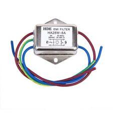Netzfilter Power EMI Filter HA28W-6A 50/60Hz 250V AC V6F6
