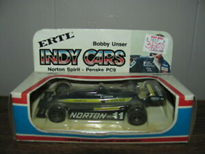 Ertl Indy Cars Bobby Unser Norton Spirit Penske PC9 #11
