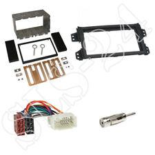 Suzuki Splash / Opel Agila Doppel 2-DIN Blende Radioblende+ISO Radio Adapter SET