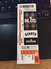 2016 CHICAGO CUBS VS SAN FRANCISCO GIANTS NLDS GAME 4 TICKET STUB CUBS ADVANCE