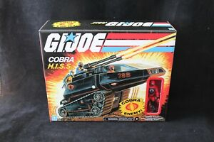 GI Joe Hasbro Walmart Exclusive Retro Cobra H.I.S.S. Tank New MISB