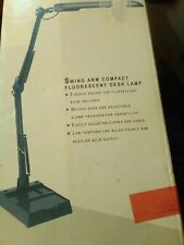 13W Fluorescent Computer Task Lamp,Clamp-On or Desk Base,perfect vintage