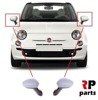 FOR FIAT 500 (312) 2007 - 2018 NEW WING MIRROR ELECTRIC 3 PIN PAIR SET LHD