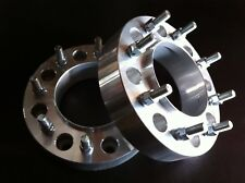 """2012 to 2018  Dodge 2500 3500 Ram HUB CENTRIC Wheel Spacers 2"""" 8x6.5 Rear axle"""