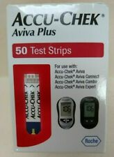 50 Accu-Chek Aviva Plus Test Strips  Exp 11/30/2020 Ship Free BLOWOUT DEAL WOW $