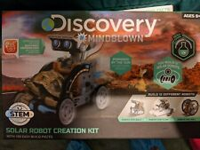NEW Discovery Kids  Mindblown STEM 12-in-1 Solar Robot Creation 190-Piece Kit