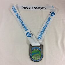 2017 Ogden Marathon Relay Medal Award Running Run Utah Medallion 5K Race Zions