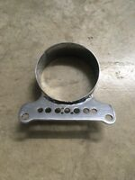 Harley FXR XL FXD speedo tach single gauge mount Bracket Chrome
