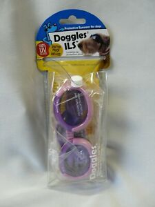 Doggles ILS Protective Eye Wear Goggles Sunglasses for Dogs Pink X-Small