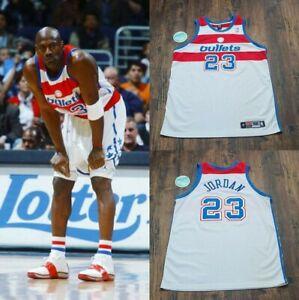 michael jordan washington wizards jersey Bullets Nike Authentic Rodman Pippen...