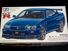 1/24 Japan Tamiya Nissan R34 Skyline GT-R Plastic Model