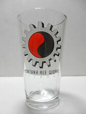 Montana Ale Works Pint Beer Glass Bozeman Craft Brewery