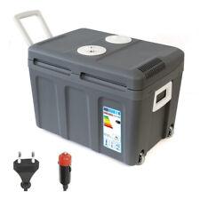 Kühlbox 12V 230V 40L Mini-Kühlschrank + Rollen Thermoelektrische Warmhaltebox