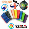 10-1000pcs Foam Bullet Darts For Kids Toy Sharp/Round Head Blasters US
