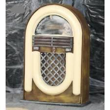 Vintage Hanté Radio Illuminé & Son sans Fil Décoration de Halloween Accessoire