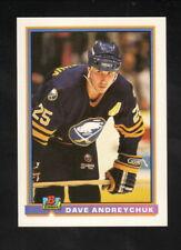 Dave Andreychuk--1991-92 Bowman Hockey Card--Buffalo Sabres