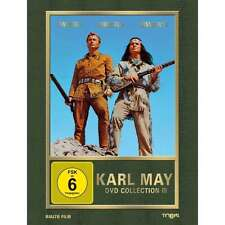 KARL MAY Collection III WINNETOU 1 2 3 Pierre Brice LEX BARKER DVD Box Edition