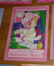 SAILOR MOON SUPER S JUMBO CARDDASS CARD CARTE SAILORCHIBIMOON JAPAN 1995 ** #006