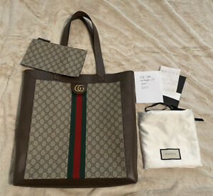 100% authentic gucci Ophidia large tote