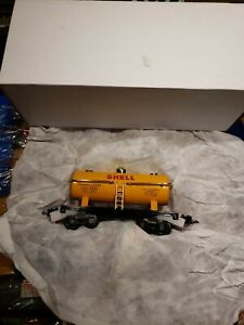 MTH 11-5510A Lionel 2654 Shell Tanker Car O Scale 🚂🇺🇸 LOT Nickel brass trim