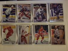 1996-97 Maggers Leafs Magnets and Proofs, Gilmour, Sundin, Clark, and Potvin (8)