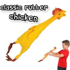 """22"""" Large Rubber Chicken Bird Joke Prank Funny Chick Hen Party Gag Gift Dog Toy"""
