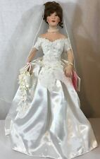 Treasure Collection June Bridal Beauties Doll from Paradise Galleries 18""