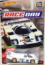 HOT WHEELS 2017 CAR CULTURE RACE DAY PORSCHE 962 #4/5