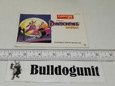 Authentic Darkwing Duck Manual Only NES Original Nintendo