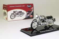 Atlas Editions 4 658 112; 1956 Norton Dominator Metallic Silver; Excellent Boxed