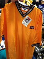 FILA SHORT SLEEVE  BJ   VINTAGE 3/36 OR 38/40 INCH  yellow VINTAGE AT £14