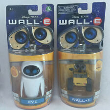 2 Pcs Set Wall E Toy Walle Eve Figure Toys Wall-E Robot Collection Figures Dolls