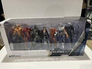 DC Comics The New 52 Super Heroes Vs. Super Villians Action Figure 7-Pack