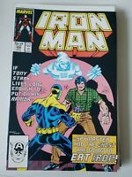 IRON MAN #220 (1987) MARVEL 2ND APPEARANCE GHOST (ANTMAN MOVIE!) DEATH SPYMASTER
