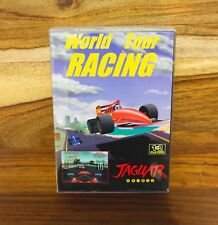World Tour Racing Atari Jaguar CD - Telegames - BRAND New Complete CIB Lot D