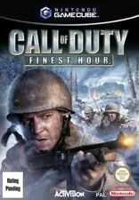 Call of Duty: Finest Hour Nintendo Gamecube GBC Video Game UK Release
