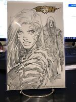 Witchblade #86 1/500 Jay Co Comics Exclusive Michael Turner Sketch Variant NM