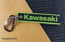 KAWASAKI logo fabric KEY  CHAIN STRAP KEY HOLDER D RING tag key ring