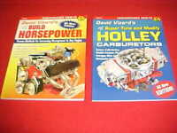 NEW HOW TO SUPER TUNE MODIFY HOLLEY CARBURETOR BUILD HORSEPOWER BOOK GROUP LOT 2