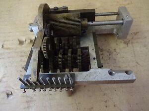 Clock spring winder nicely made asis