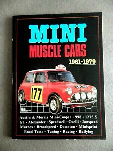 Book Mini Muscle Cars, 1961-79 Brooklands Books IN English