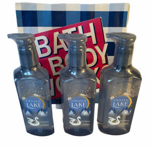 Bath & Body Works Frozen Lake Gentle Gel Hand Soap-Essential oils x3