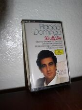 Placido Domingo: Be My Love - Cassette - Import  (NEW SEALED)