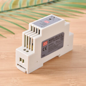 15W 12V MINI DIN Rail Switching Power Supply DR-15-12 LED Power Supply UnODsn