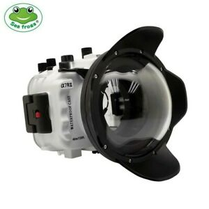 Seafrogs 130ft Underwater Camera Housing for Sony A7 III A7R III with Dome Port
