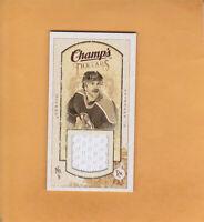 GLENN ANDERSON 2009 10 UD CHAMPS MINI JERSEY # MT-GA EDMONTON OILERS