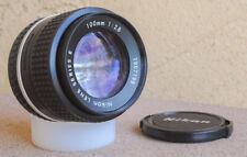 Nikon 100mm F2.8 AIS Manual Focus Portrait Telephoto lens Ai-s