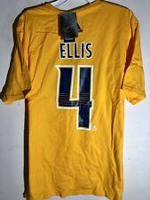 adidas  NHL T-Shirt Nashville Predators Ryan Ellis Gold sz L