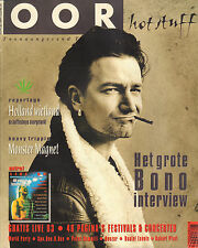 MAGAZINE OOR 1993 nr. 09 - BONO (U2)/MONSTER MAGNET/QUAZAR/ROBERT PLANT