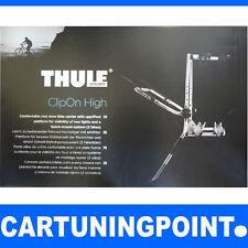 THULE Galerie, Porte-Vélos arrière pour 2 vélos ClipOn Grande 9105 argent 3 NEUF